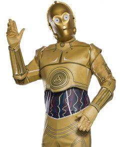 C-3PO Star Wars kostume.
