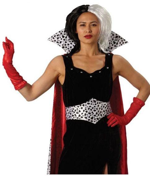 Cruella De Vil kostume til voksne.