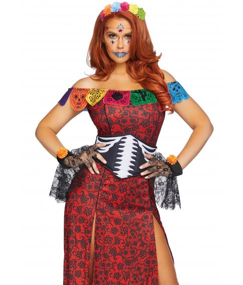 Deluxe day of the dead beauty kostume