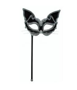 Kat, sort/sølv
