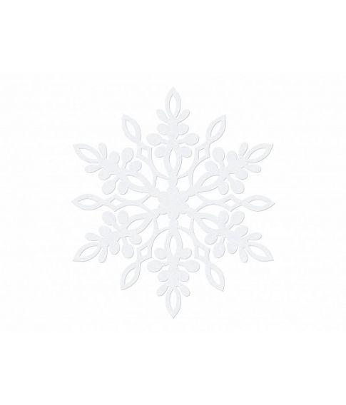 Snefnug deko hvid