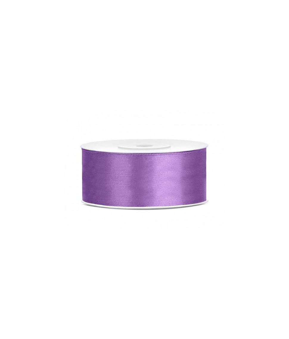 Lavendel satinbånd 25 mm