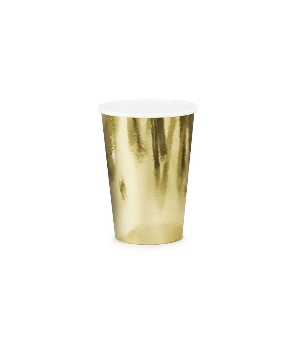 Papkrus guld metallic 220 ml