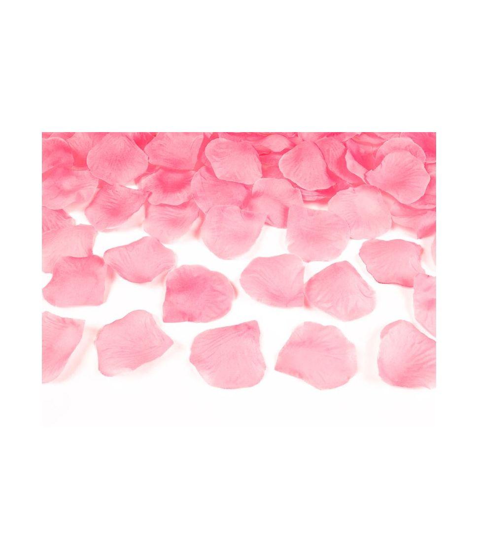 Lyserøde rosenblade 500 stk