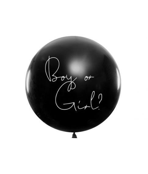 Boy or Girl ballon, dreng.