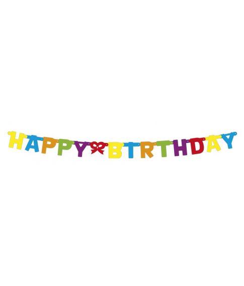 Happy Birthday guirlande.