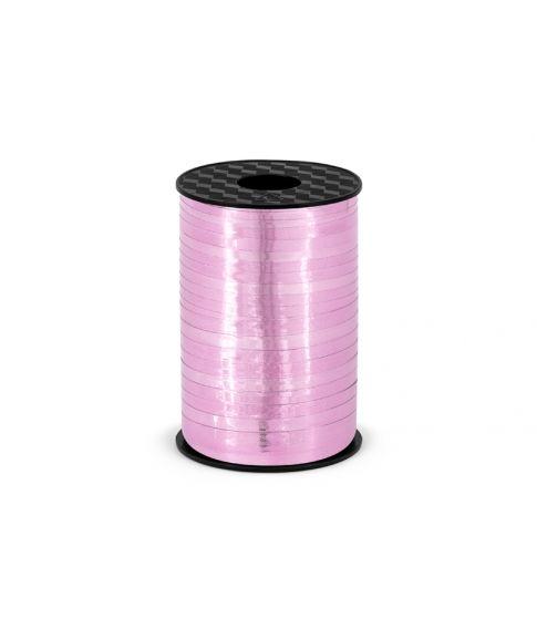 Plastik gavebånd i metallic pink