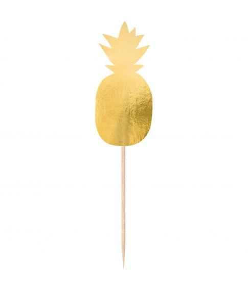 20 stk. Ananas cocktail sticks