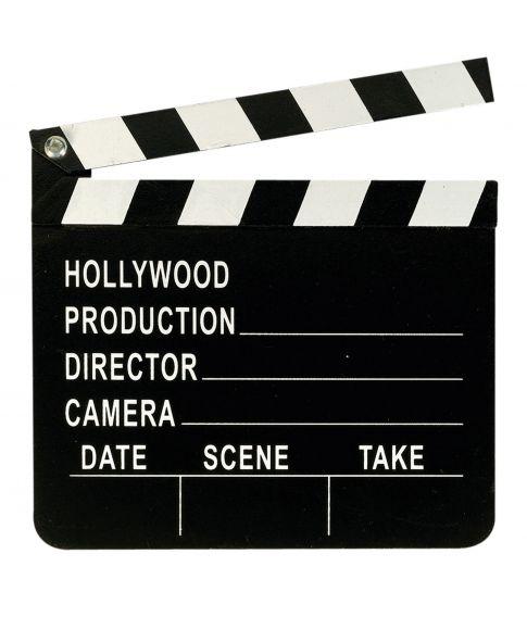 Hollywood klaptræ i plastik