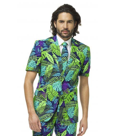 OppoSuit Juicy Jungle med kortærmet jakke og shorts.
