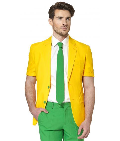 OppoSuit Green & Gold, kort