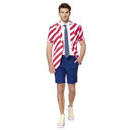 OppoSuit United Stripes, kort