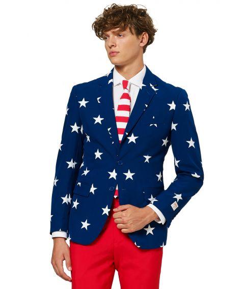 USA jakkesæt til 4th. of July.
