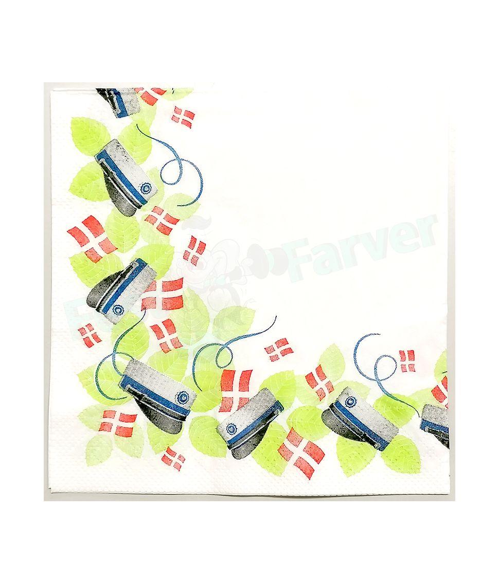 Flotte servietter til studentergilde