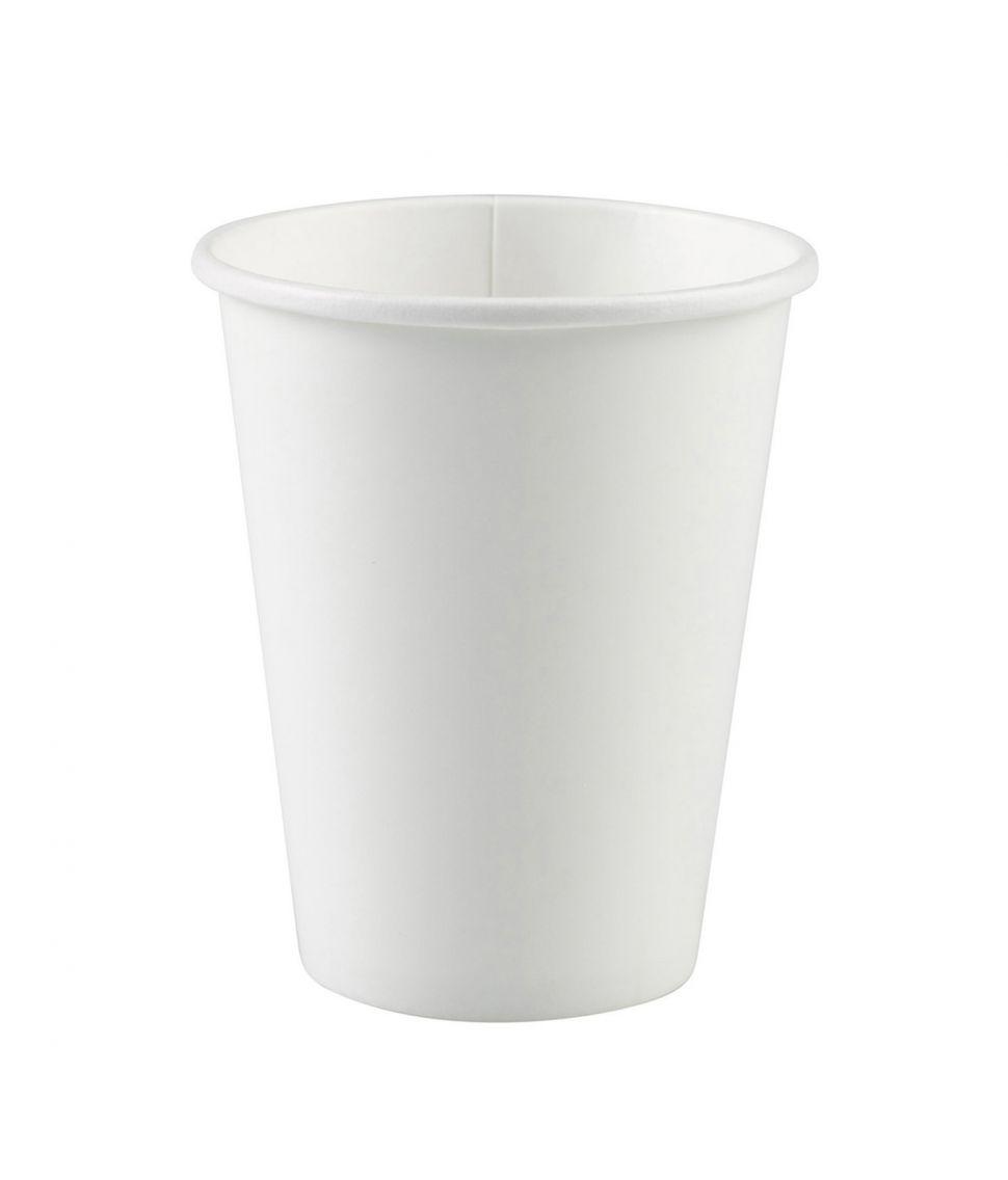 Hvide papkrus, 266 ml.