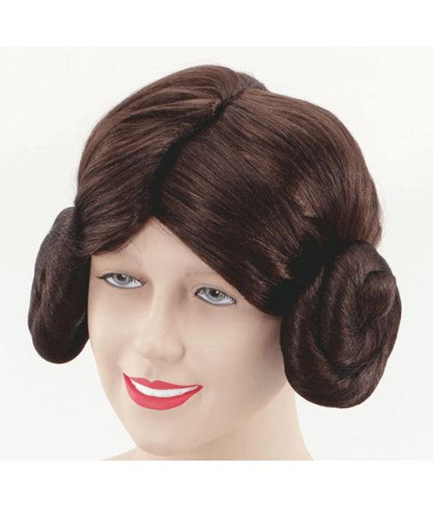 Prinsesse Leia paryk