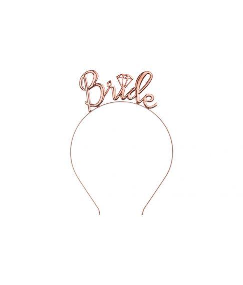 Bride hårbøjle Rose Gold
