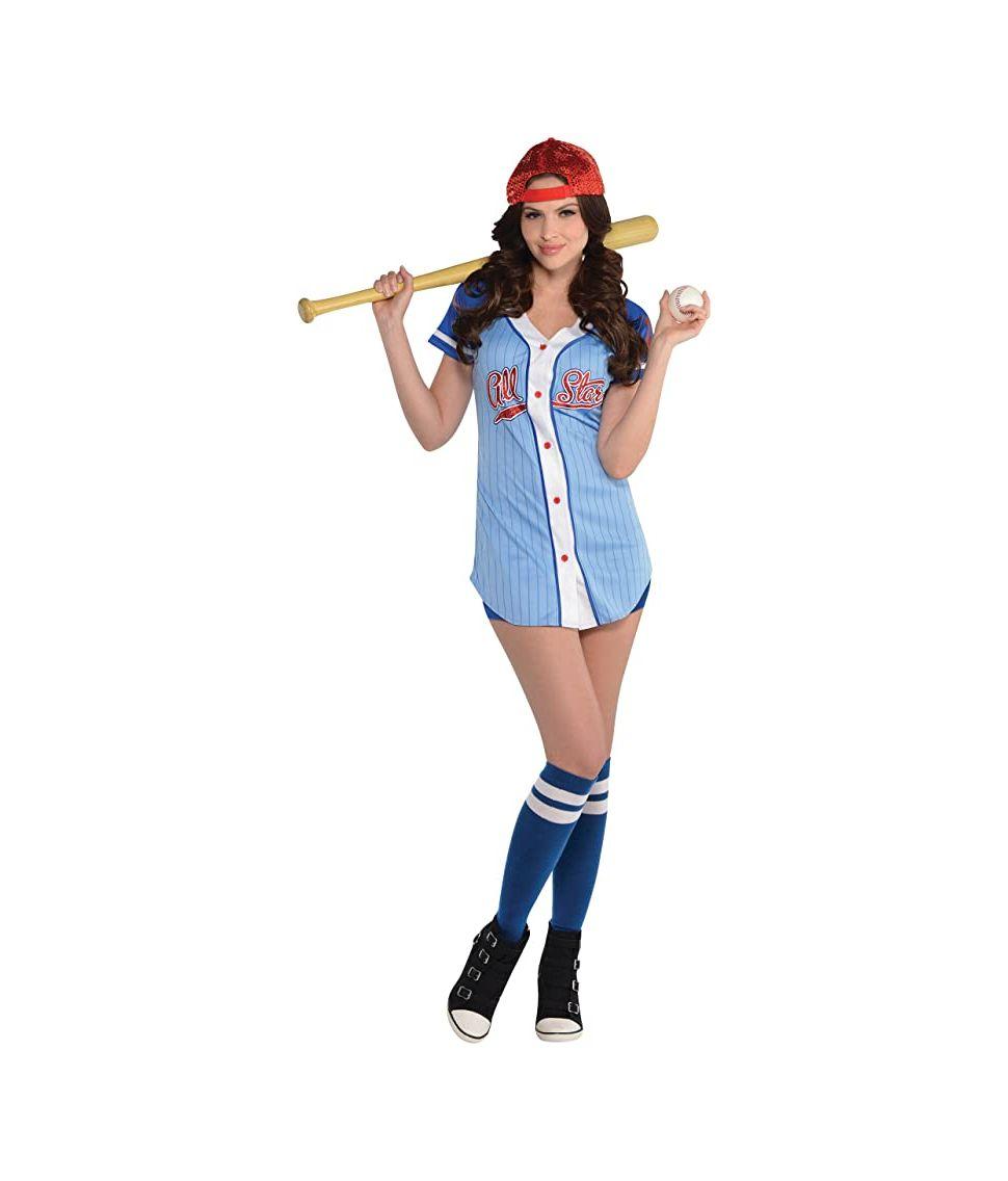 Baseball spiller kostume til damer.