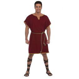 Flot romersk tunika kostume med bælte.