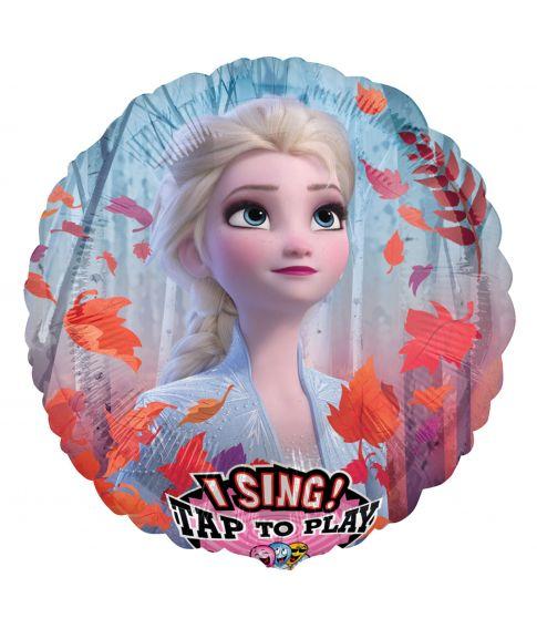 Flot folieballon med sang og motiv fra Frost 2 filmen.