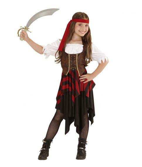 Pirat kostume til piger.