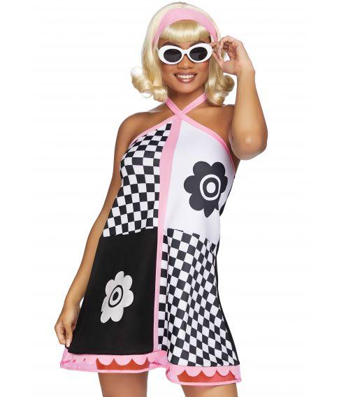Flot kjole til 60er festen fra Leg Avenue.