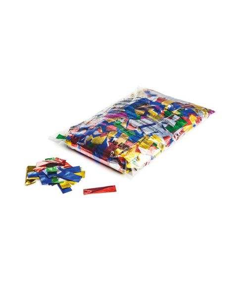 1 kg slow fall metallic konfetti i forskellige farver