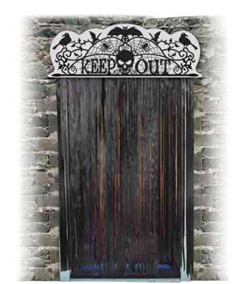 Keep out dør skilt