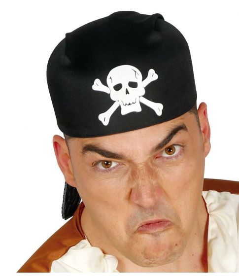 Pirat bandana til kostume.