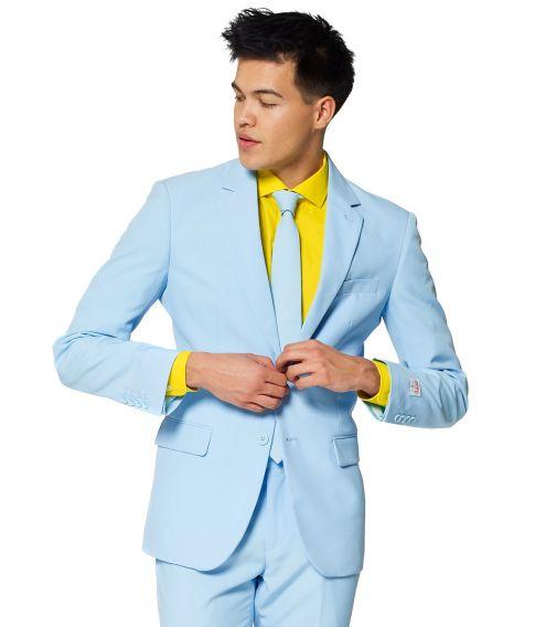 OppoSuit Cool Blue - lyseblåt jakkesæt