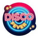 3 stk disco dekorationer i pap