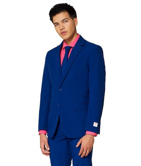OppoSuit Navy Royale - mørkeblåt jakkesæt