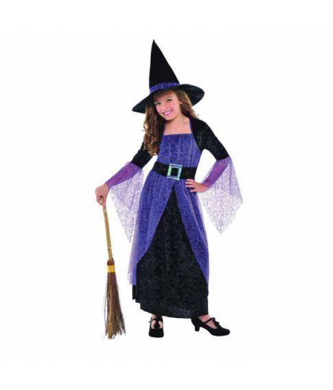Flot hekse kostume til piger.