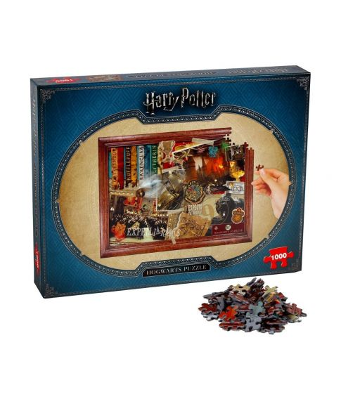 Harry Potter Hogwarth puslespil med 1000 brikker.
