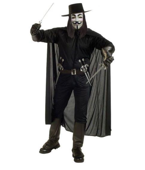 Guy Fawkes kostume v for vendetta