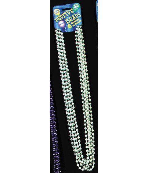 Perlehalskæde, sølv