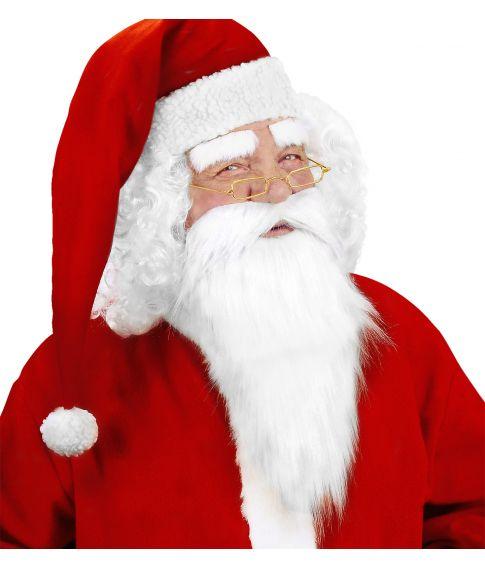 Billigt julemandsskæg.