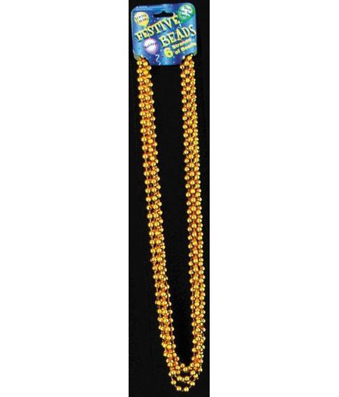 Perlehalskæde, guld