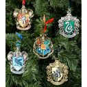 Hogwarts træ ornamenter 5 stk