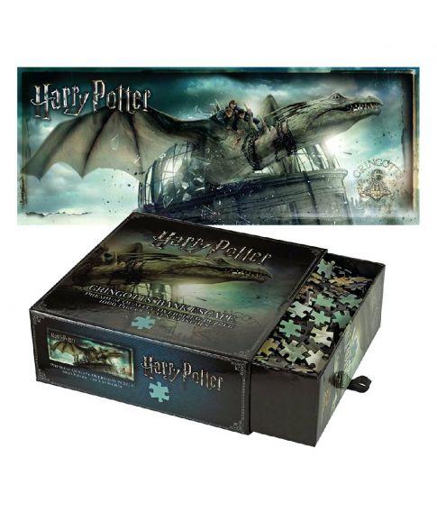 Flot Harry Potter puslespil med Gringotts Bank Escape med 1000 brikker.