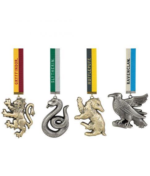 Flotte Hogwarts hus ornamenter.