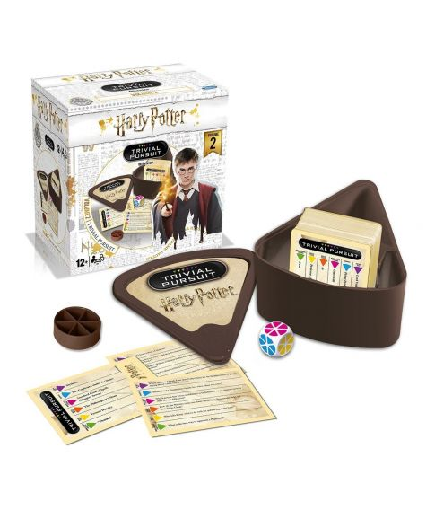 Sjovt Harry Potter Trivial Pursuit Bitesize spil volume 2.