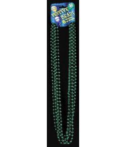Perlehalskæde, grøn
