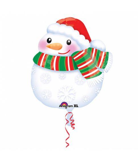 Folieballon Snemand, 43 cm