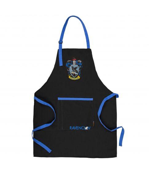 Flot Ravenclaw forklæde med lomme til tryllestav.