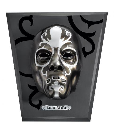 Luciis Malfoy dødsgardist maske med display