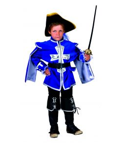 Musketer kostume til drenge