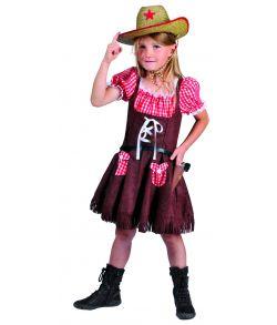 Cowgirl kostume til børn
