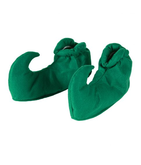 Grønne snabelsko til udklædning.
