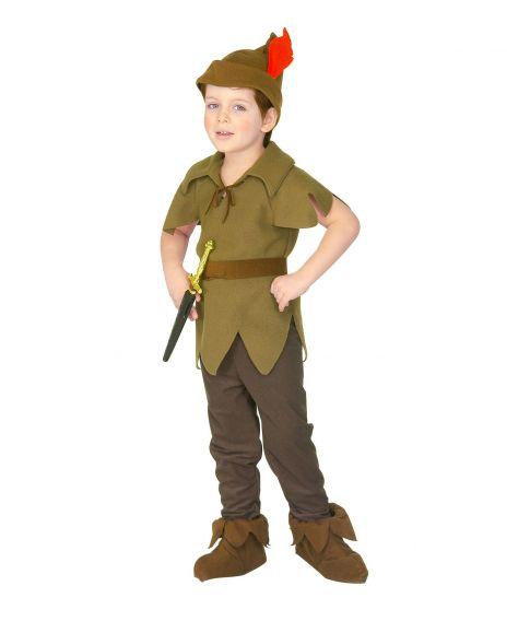 Flot Peter Pan kostume til børn.
